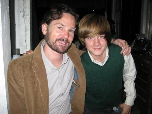 Henry Thomas and Luke Benward