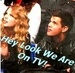 Hey We Are On TV - taylor-lautner-and-taylor-swift icon