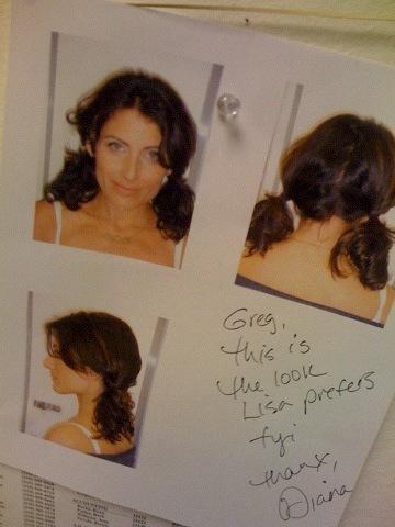 House's Head Strip Scene Hair Shot