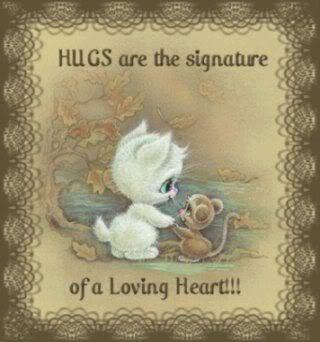Hugs are ...