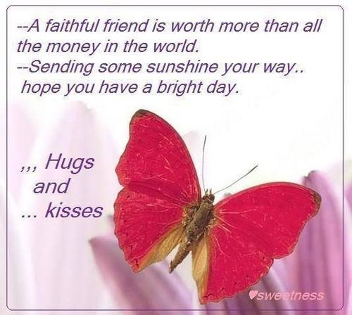 Hugs for my friends