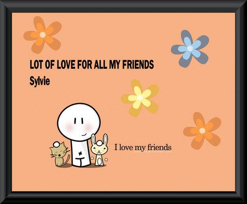I Liebe my Friends