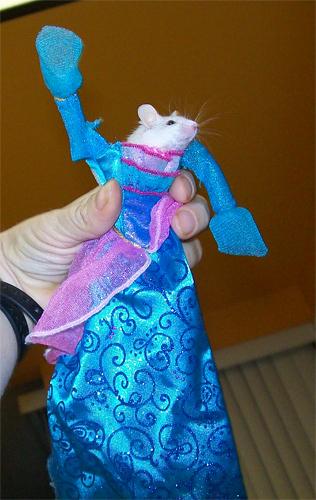 Sinema za Barbie karatasi la kupamba ukuta probably containing an apron entitled Island Princess?