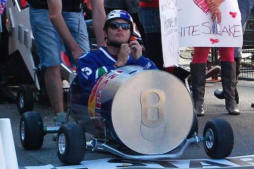 Jensen at SoapBox Derby (2008)