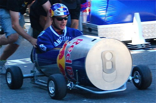 Jensen at SoapBox Derby (2008)