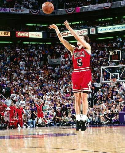 John Paxson's winning shot