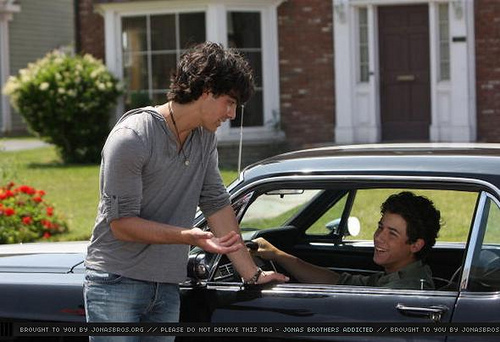 Jonas Brothers Paranoid Video Shoot
