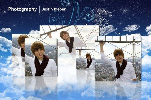 Justin Bieber karatasi la kupamba ukuta