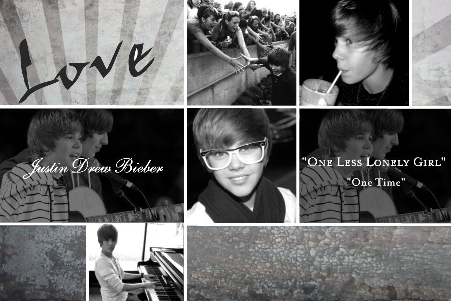 Love Justin Wallpaper : I Love Justin Bieber Wallpaper