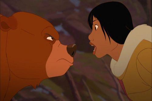 Disney's Couples Обои called Kenai and Nita