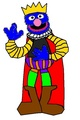 King Grover - sesame-street fan art