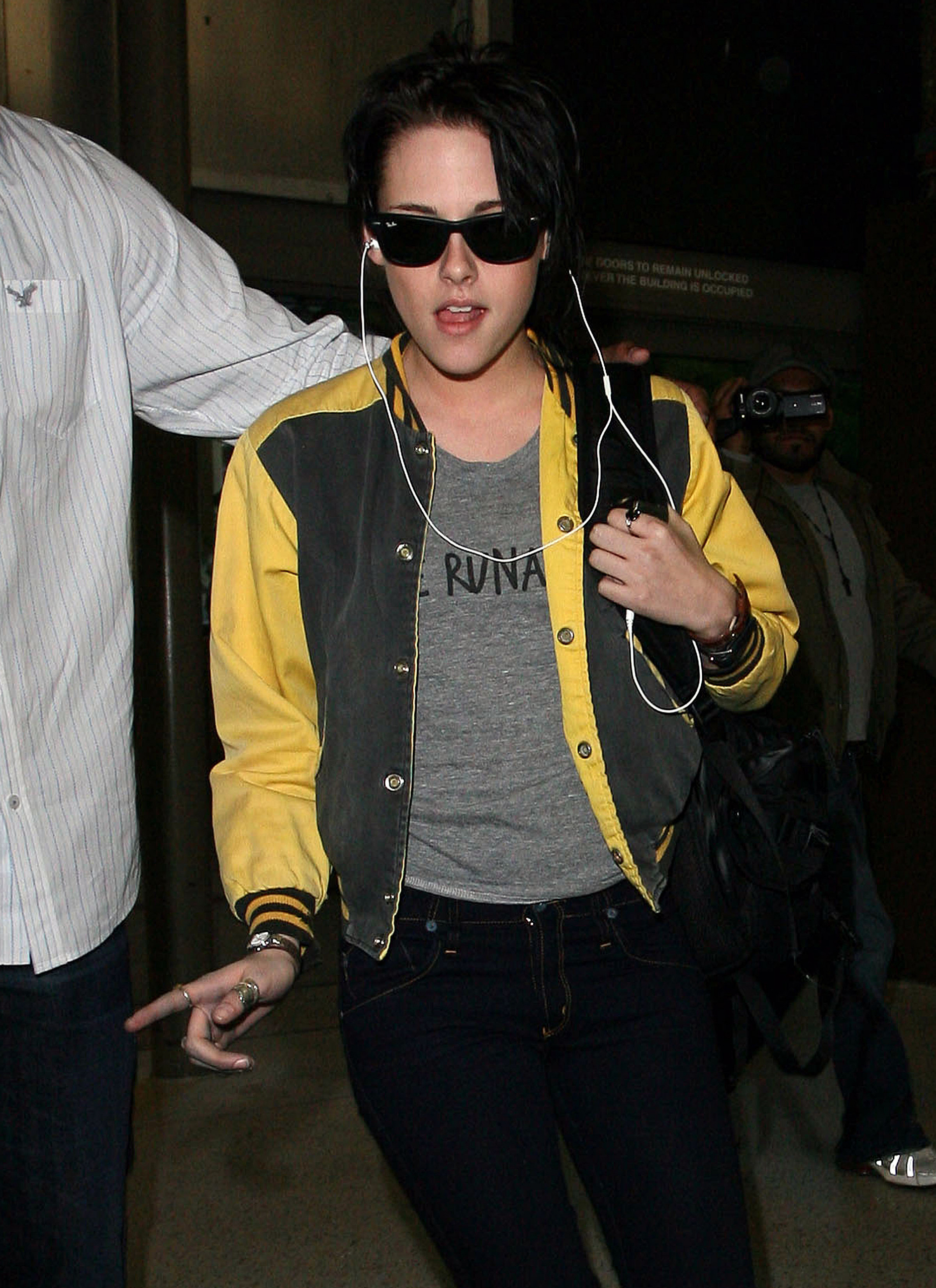 Kristen Leaving for Brazil