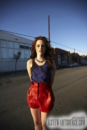 Kristen Stewart New Nylon Outtake