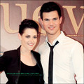 Kristen Stewart & Taylor Lautner - twilight-series photo