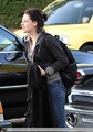 Kristen arriving at Home today - twilight-series photo