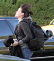 Kristen arriving home! :D - twilight-series photo