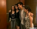 Kristen with Taylor Lautner in Brazil  - twilight-series photo