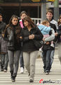 Leo Messi &amp; Antonella and their families - wags photo