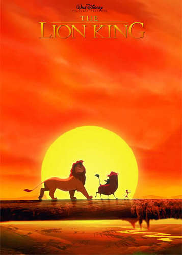 The Lion King kertas dinding possibly with a sunset called Lion King Posters