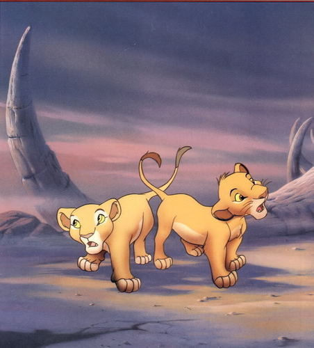 The Lion King پیپر وال titled Lion King Scans