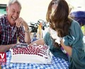 Mark Harmon and Cote de Pablo TVGuide Photoshoot