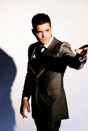 Michael Bublé wallpaper containing a well dressed person, a business suit, and a suit called Michael Buble - Crazy Love