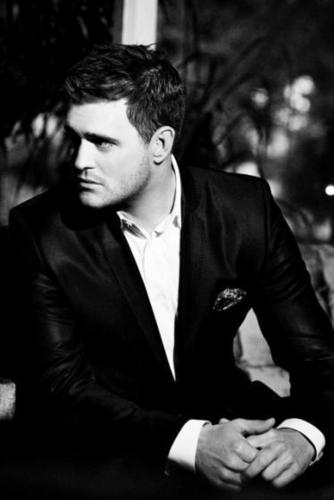 Michael Bublé wallpaper with a business suit and a suit titled Michael Buble - Crazy Love
