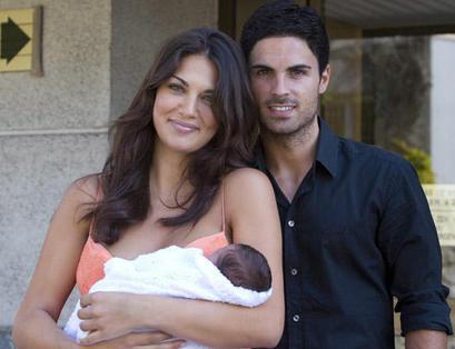 Mikel Arteta and Lorena Bernal - wags Photo
