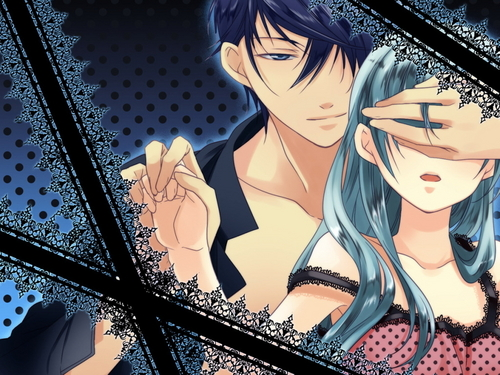 Vocaloids wallpaper with anime called Miku and Kaito