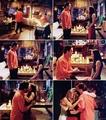 Monica and Chandler proposal <3 - friends fan art
