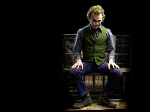 Joker wallpaper containing a business suit and a well dressed person entitled Mr. J
