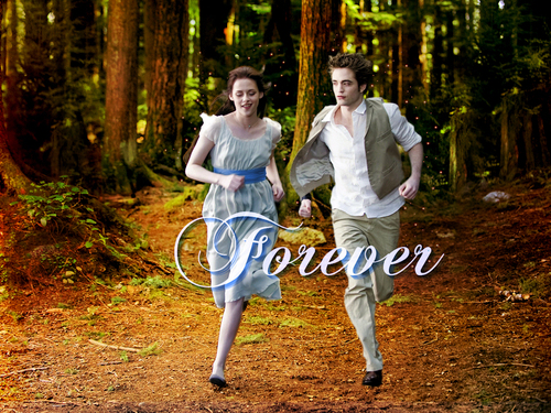 New Moon Edward & Bella FOREVER