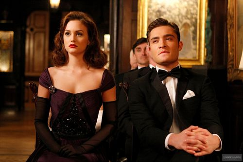 "Blair & Chuck karatasi la kupamba ukuta titled New promo stills ""Enough about Eve"""