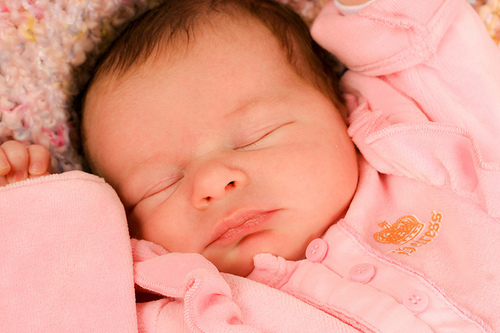 babies wallpaper containing a neonate entitled Newborn Girl