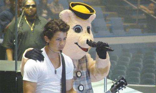 Nick & Joe as pig ; D