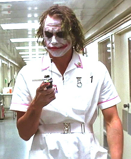 Heath Ledger Joker Nurse Nurse Joker - The Joke...