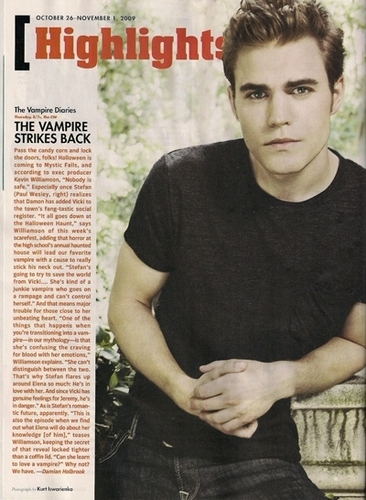 Paul in TV Guide Magazine