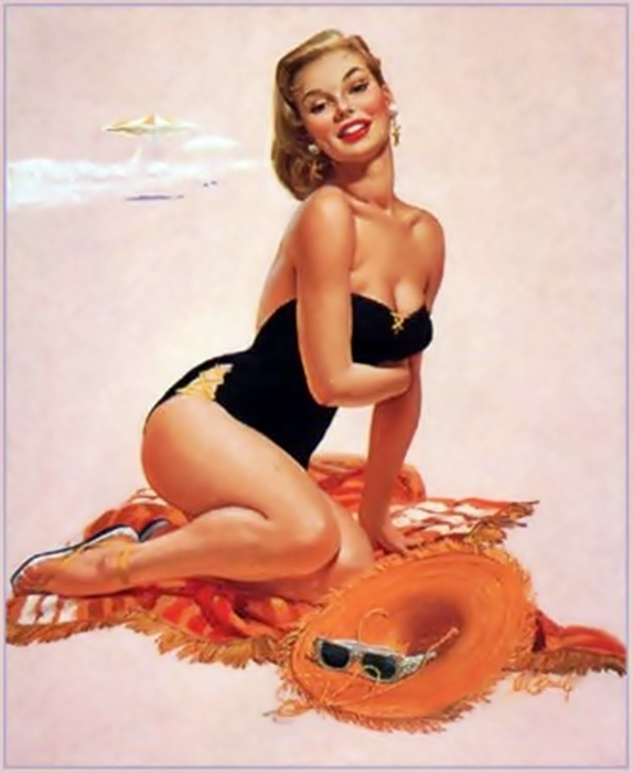 Pin Up Al Buell