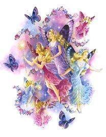 Butterflies wallpaper containing a rose and a bouquet titled Pretty  Fairies and Butterflies