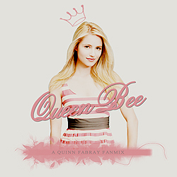 Quinn Fabray wallpaper containing a portrait called QuinnBee