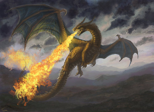 Realistic Charizard/Dragon