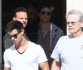 Rob, Kristen and Taylor at a studio today  - twilight-series photo