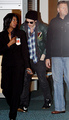 Rob and Kristen leaving Vancouver  - twilight-series photo