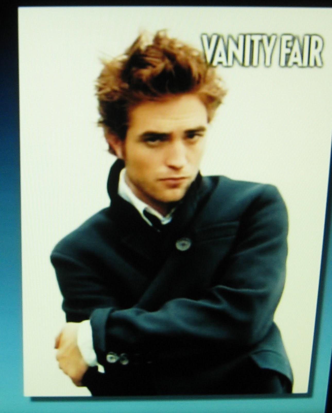 Rob's Vanity Fair pics
