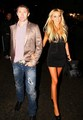 Robbie Keane and Claudine - wags photo