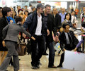 Robert Pattinson Arrives in Japan - twilight-series photo