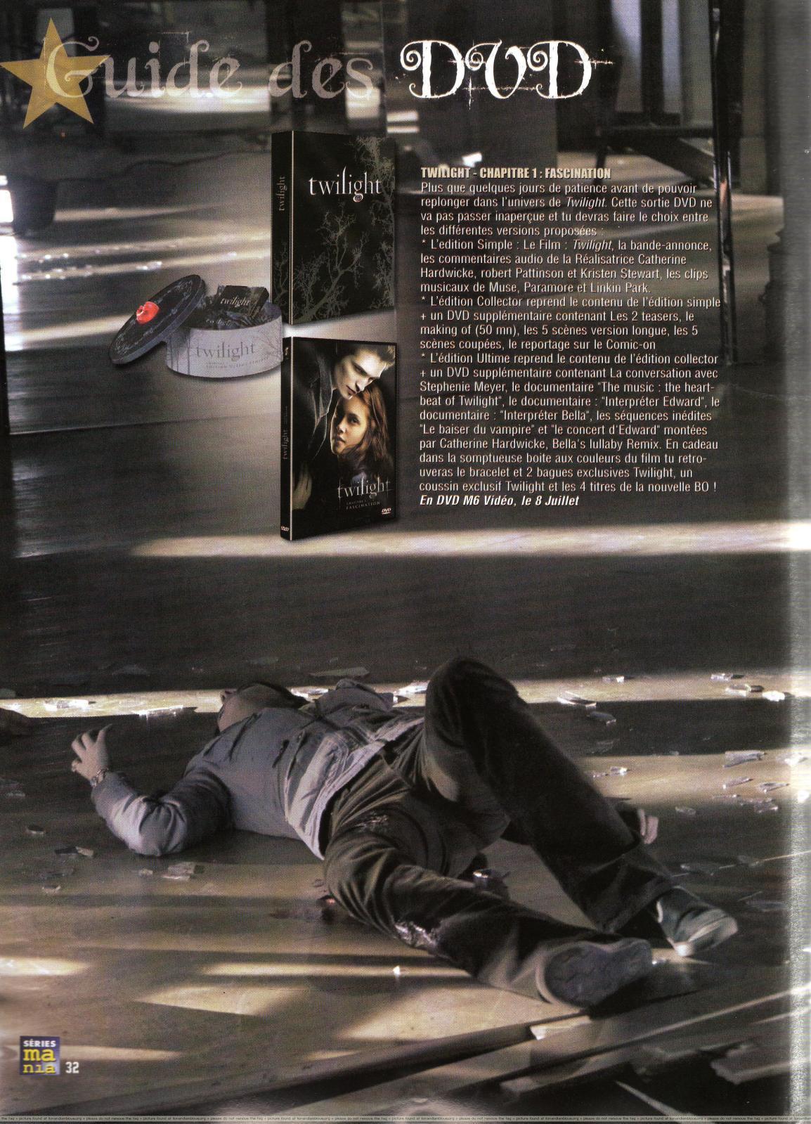 Robert Pattinson in Series Mania Magazine