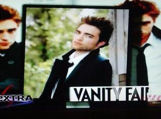 Robert Pattinson in Vanity Fair December
