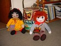 Rosie and Jim Rag Dolly Friends from the UK ! - raggedy-ann-and-andy photo