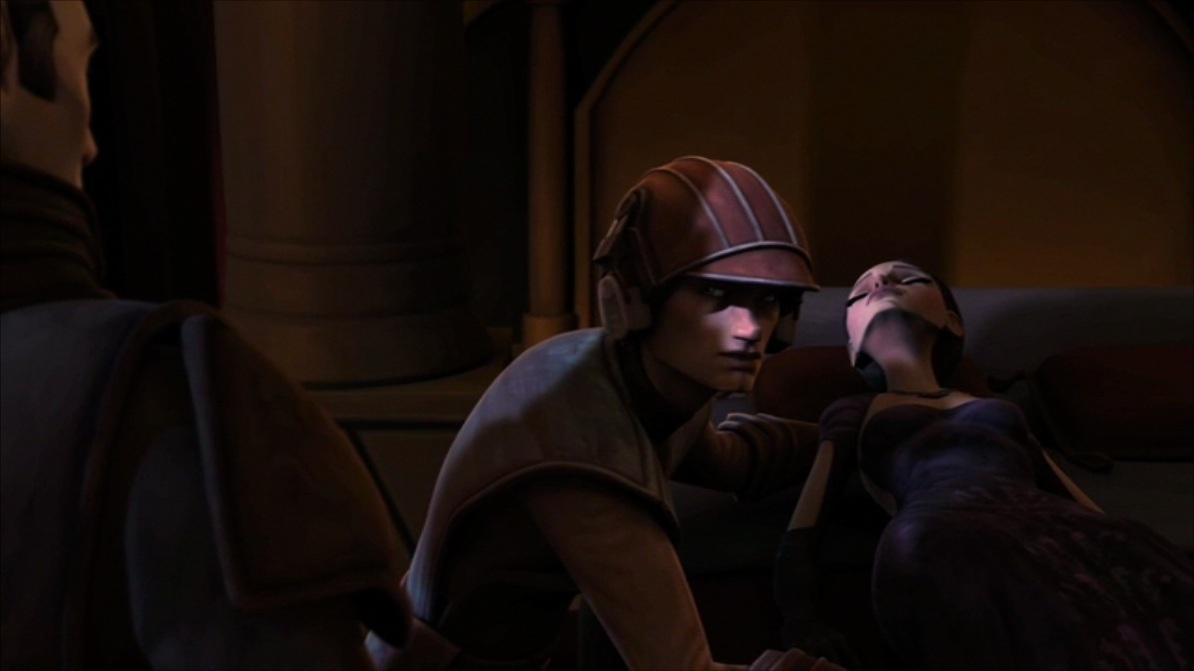 SW: The Clone Wars ep 2x04: Senate Spy - Anakin & Padmé